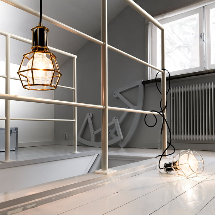 Design House Stockholm - Work Lamp, gold, silver