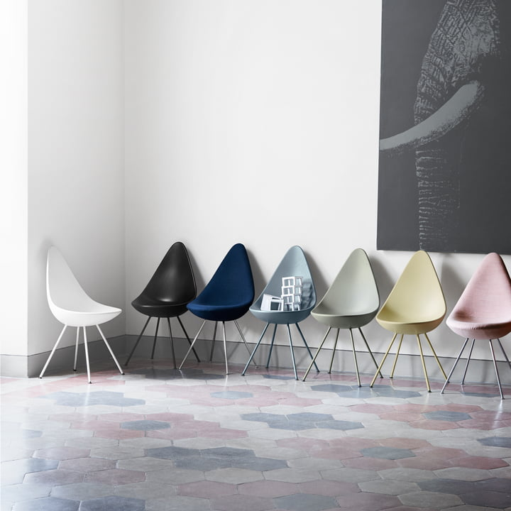 the drop chair by fritz hansen in the shop. Black Bedroom Furniture Sets. Home Design Ideas