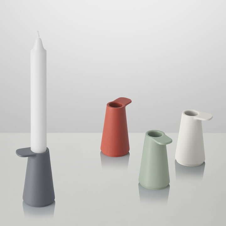 Muuto - Grip Candle Holder, colours