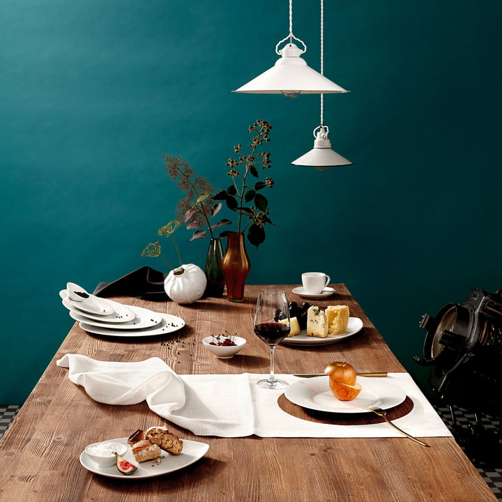 Kahla - Magic Table Service, white, laid dining table