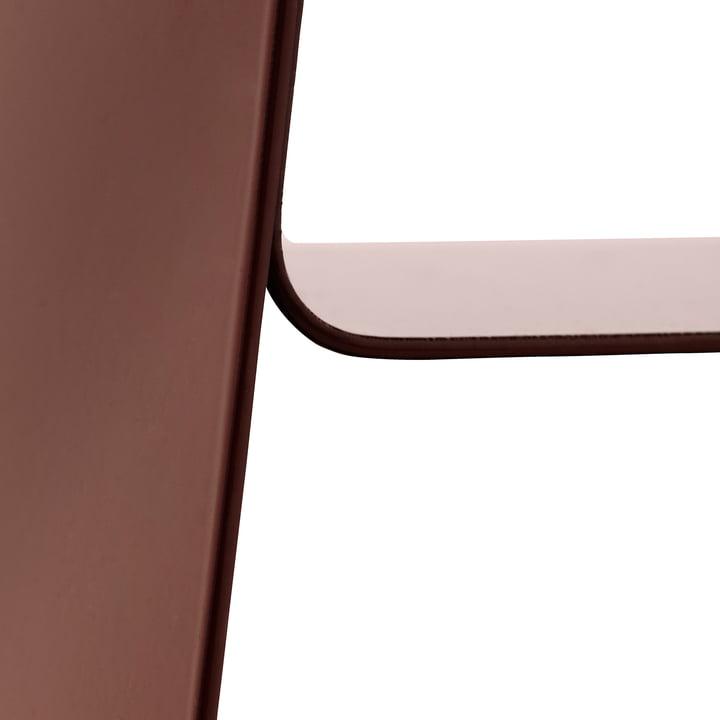 Normann Copenhagen - Stay Table, burgundy