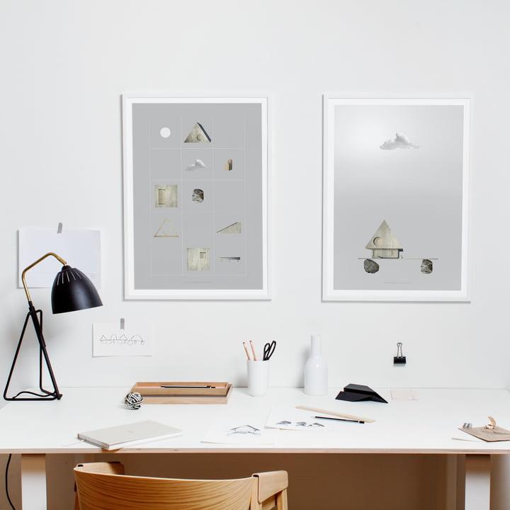Paper Collective - Poster Villa Foundation Parts