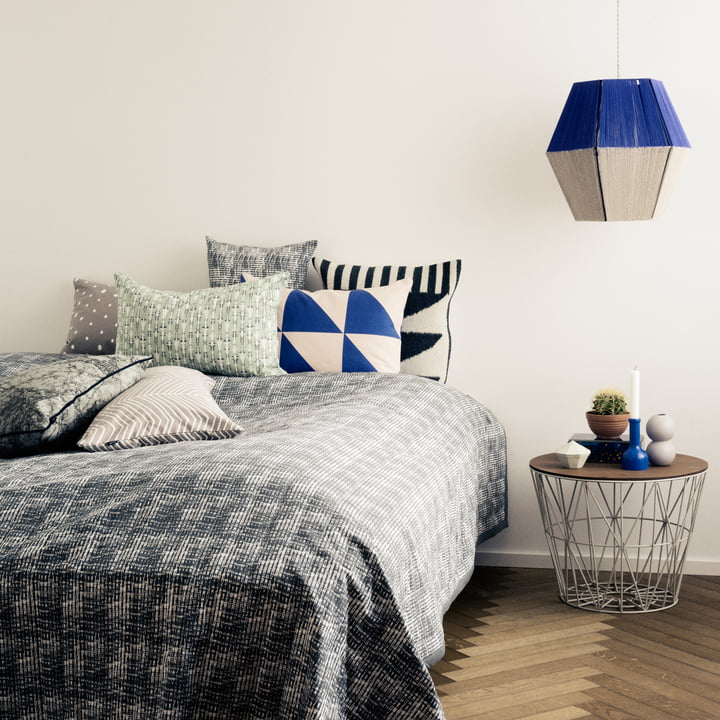 ferm Living - Herringbone and Dotted Cushions