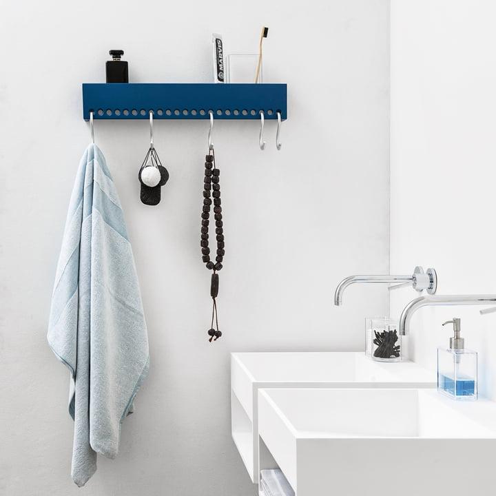 Nomess - So-Hooked Coat Rack, blue