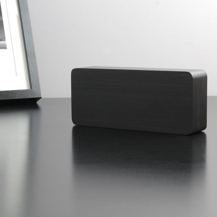 Gingko - Slab, black / LED blue
