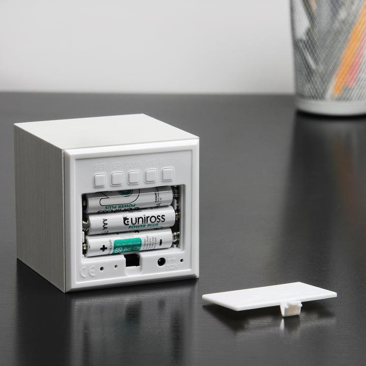 Gingko - Cube, white / LED white, battery