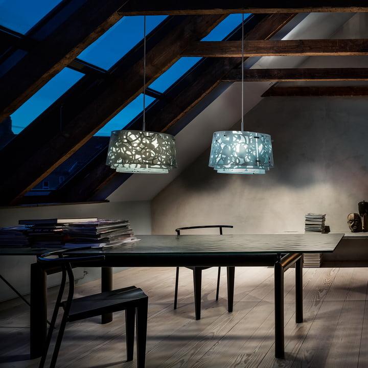 Collage 450 Pendant Lamp By Louis Poulsen