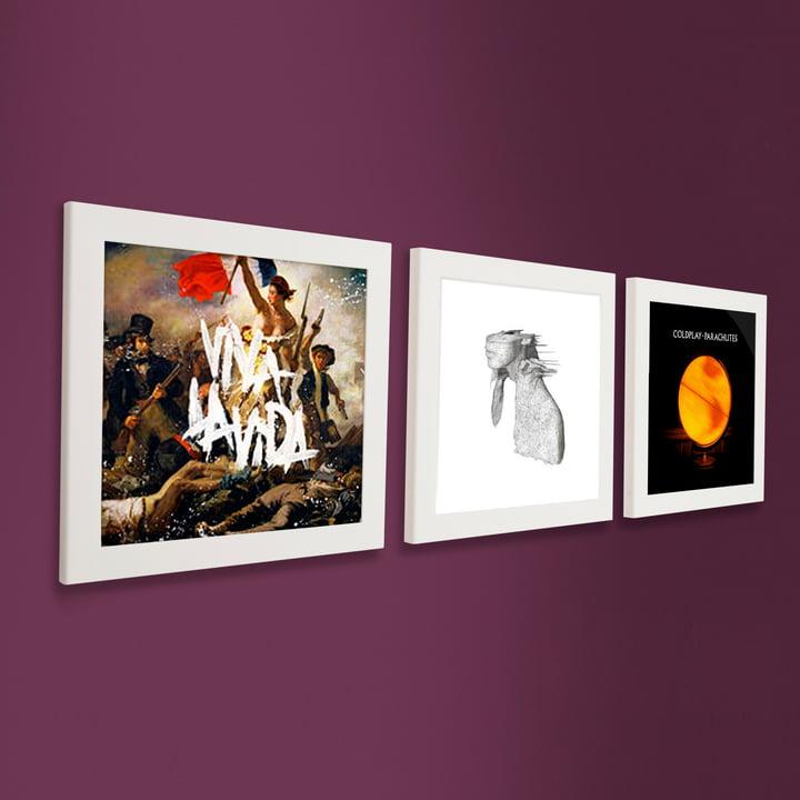 Art Vinyl - Flip Frame 3 piece set, white