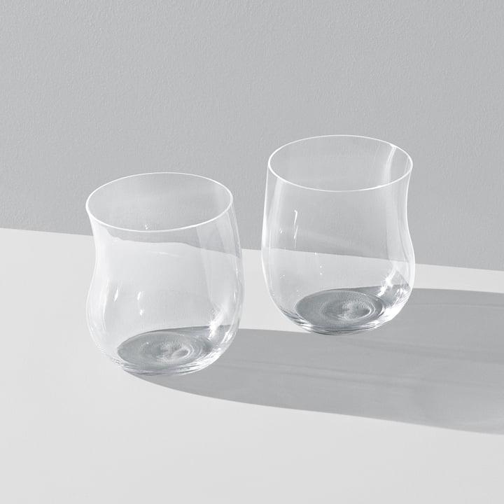 Georg Jensen - Cobra Drinking Glass 0.2 l (set of 2), transparent