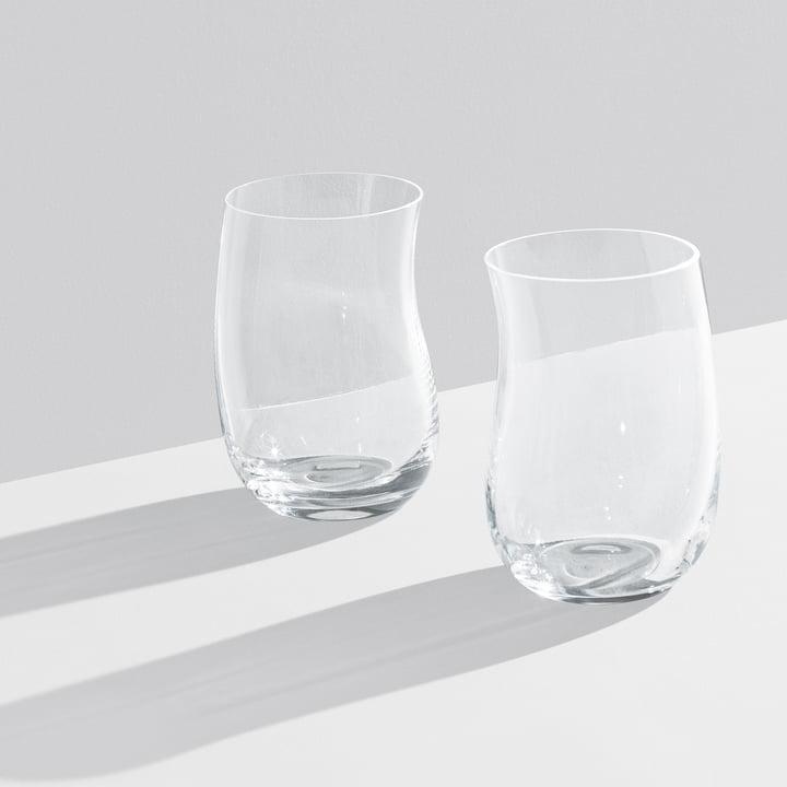 Georg Jensen - Cobra Drinking Glass 0.35 l (set of 2 ), transparent