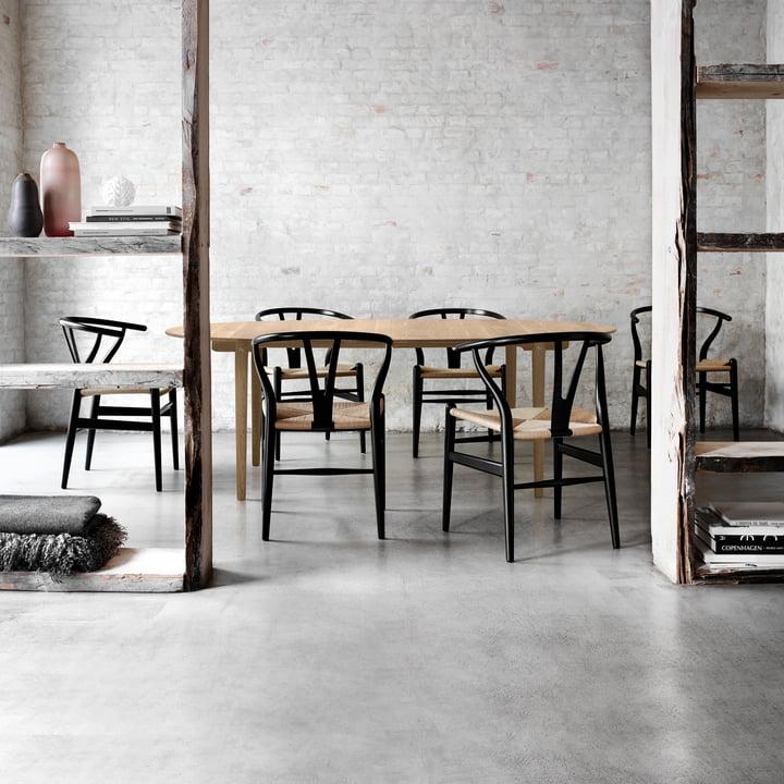 CH24 Wishbone Chair by Carl Hansen