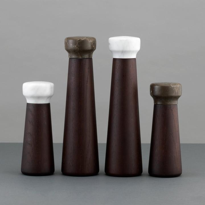 Normann Copenhagen - Craft spice grinder, stained oak