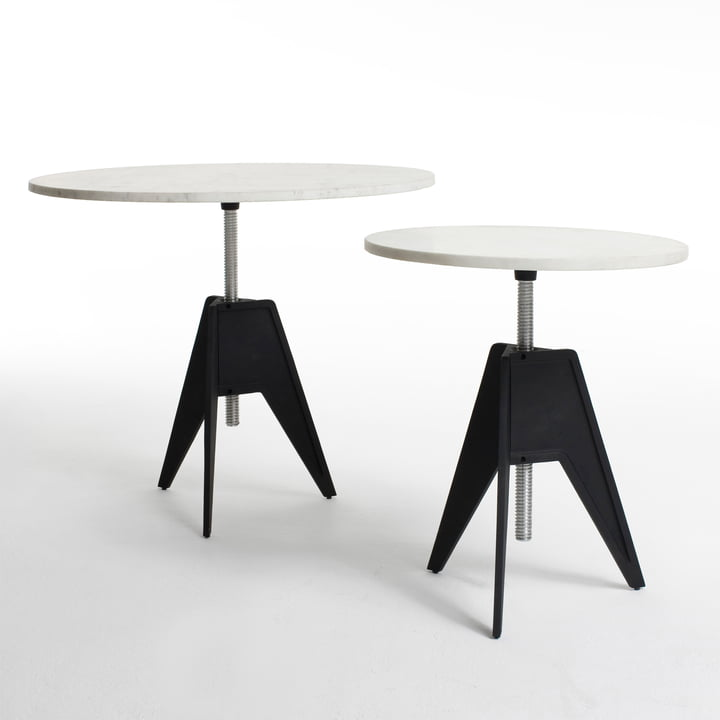Screw Table in small and in large by Tom Dixon