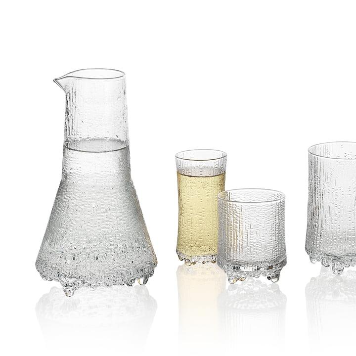 Iittala — Ultima Thule Carafe and Glasses