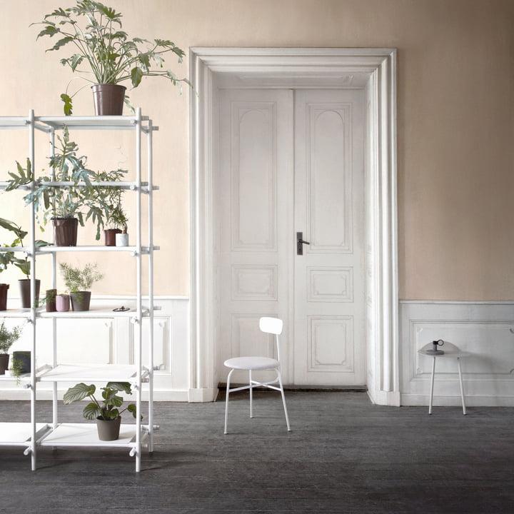 Menu - Stick System, white / white