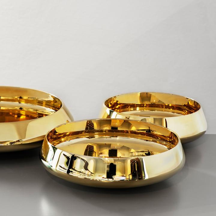 Skultuna - Ballerina Bowl brass polished, trio