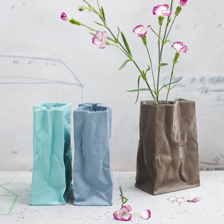 Rosenthal - Paper bag vase, coloured