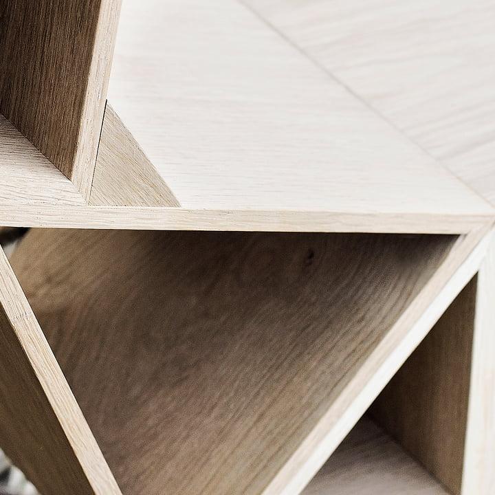BeDesign - Deer wooden large, solid oak