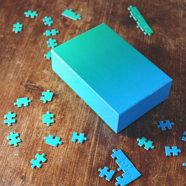 Areaware - Gradient Puzzle, blue / green