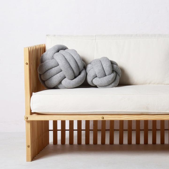 OK Design - Chango Cushion, grey