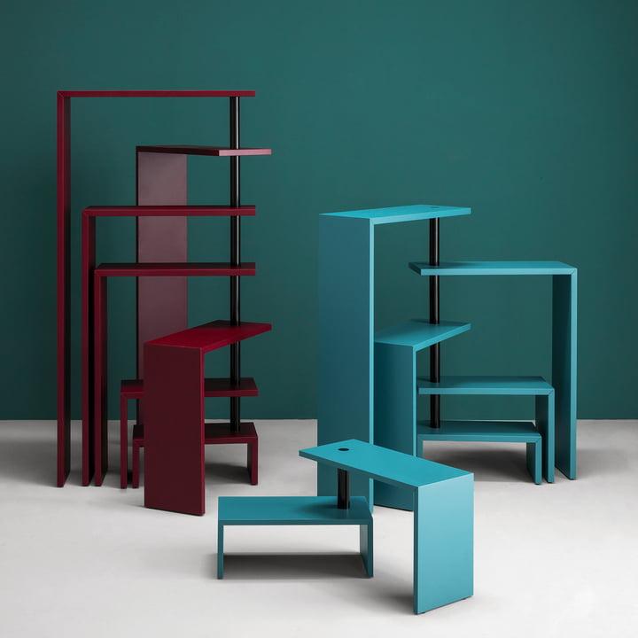 Zanotta - Joy Rotating Shelf Unit