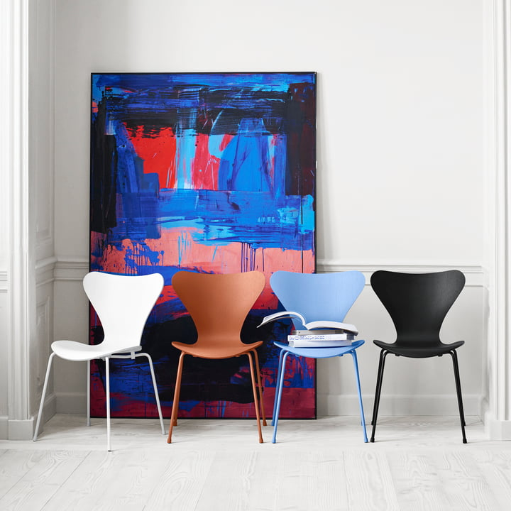 Fritz Hansen - Series 7 Chair, Monochrme, Group