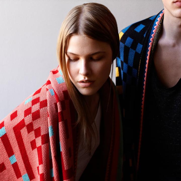 Zuzunaga - Tokyo 1 Woollen Blankets