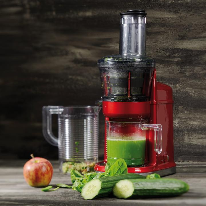 KitchenAid - Slow Juicer, empire red