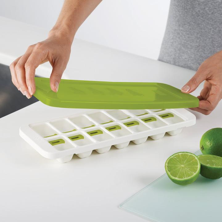 Joseph Joseph - QuickSnap Ice Cube Tray, green
