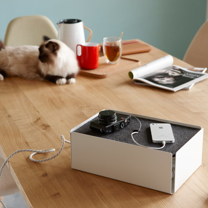 The Konstantin Slawinski Charge Box hides disturbing cables with style