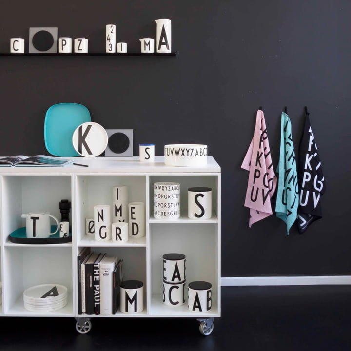 Abc Tea Towels By Design Letters In The Shop