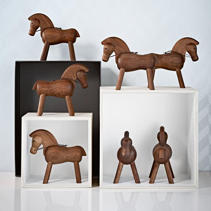 A herd of Kay Bojesen horses