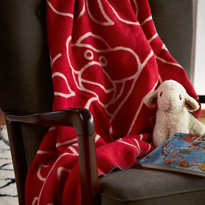 Kay Bojesen - blanket with stuffed animal