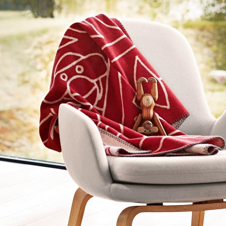 Kay Bojesen - Children's Blankets in the living room