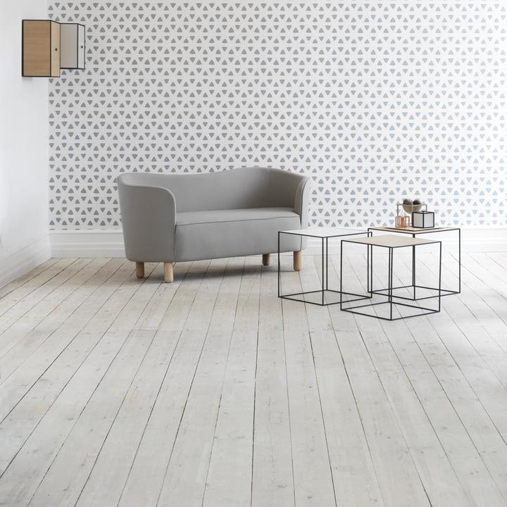 Harmonious furnishings with minimalist style of by Lassen