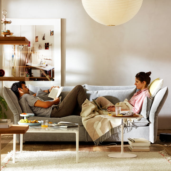2.5-seater Mariposa sofa by Vitra
