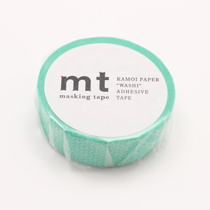 Masking Tape - 1P Deco Series Line Pattern Green