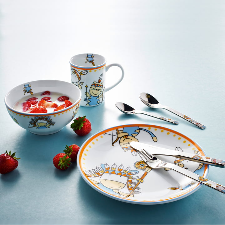 Puresigns - One Moema children's cutlery