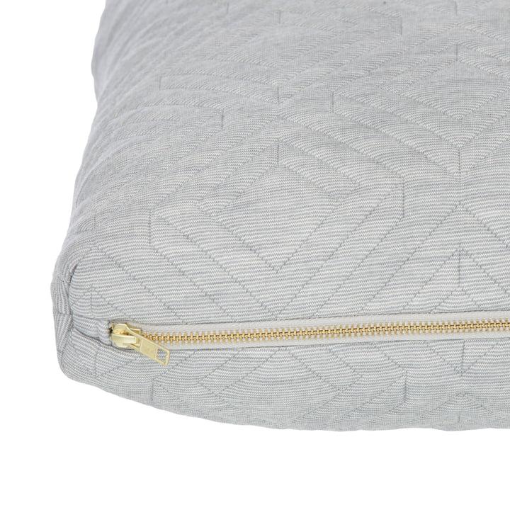Cushion by ferm Living in Light Grey