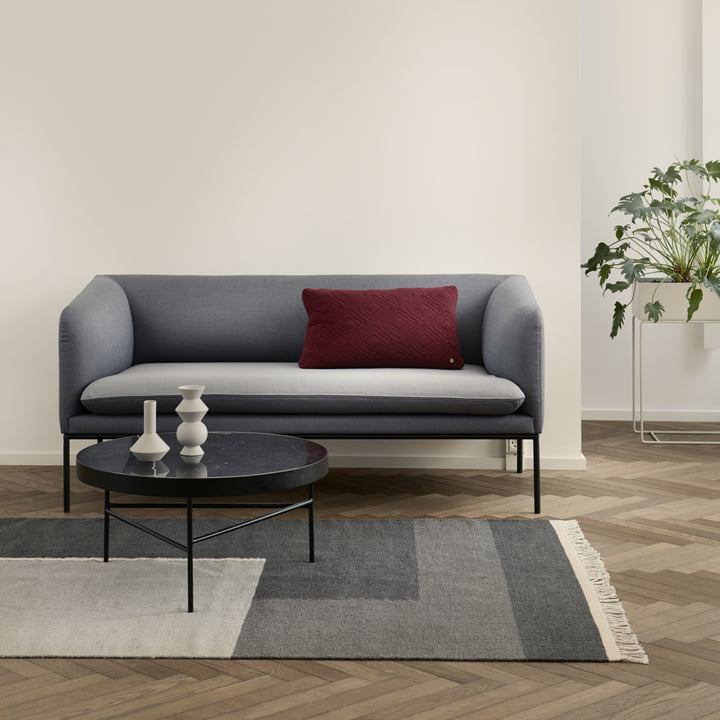 Cushion and Kilim Rug Section by ferm Living