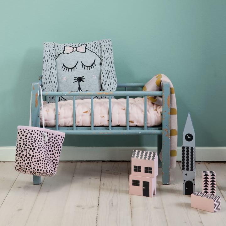 """Little Ms Rabbit"" Cushion by ferm Living"
