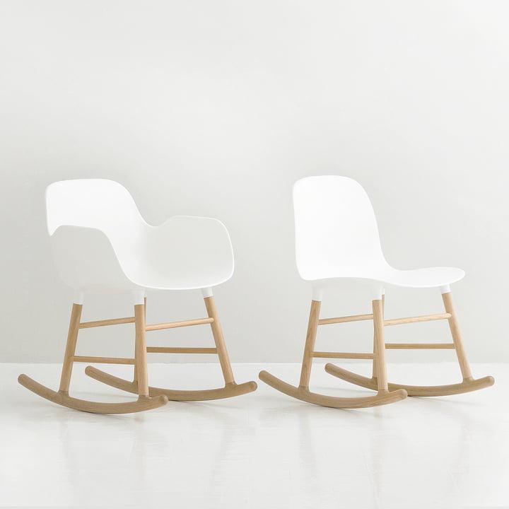 Form rocking armchair by Normann Copenhagen