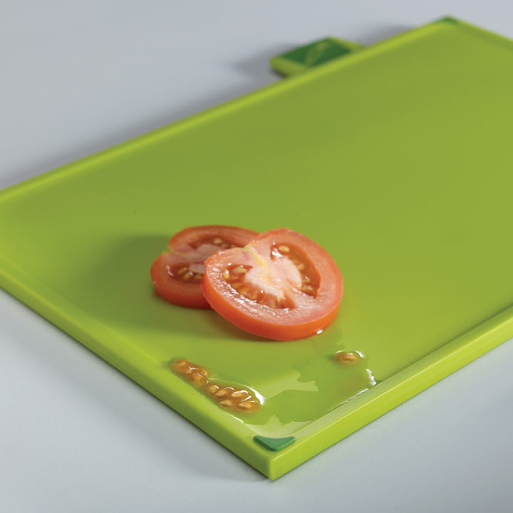 Chopping board for vegetables from the index steel chopping board set of 4 by Joseph Joseph