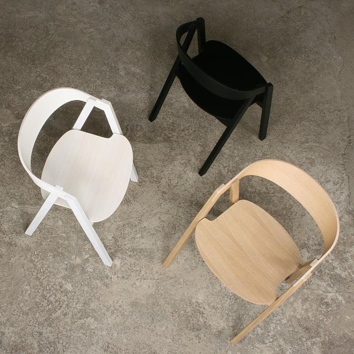 Maigrau - Nardo chair, oak natural/ ash white