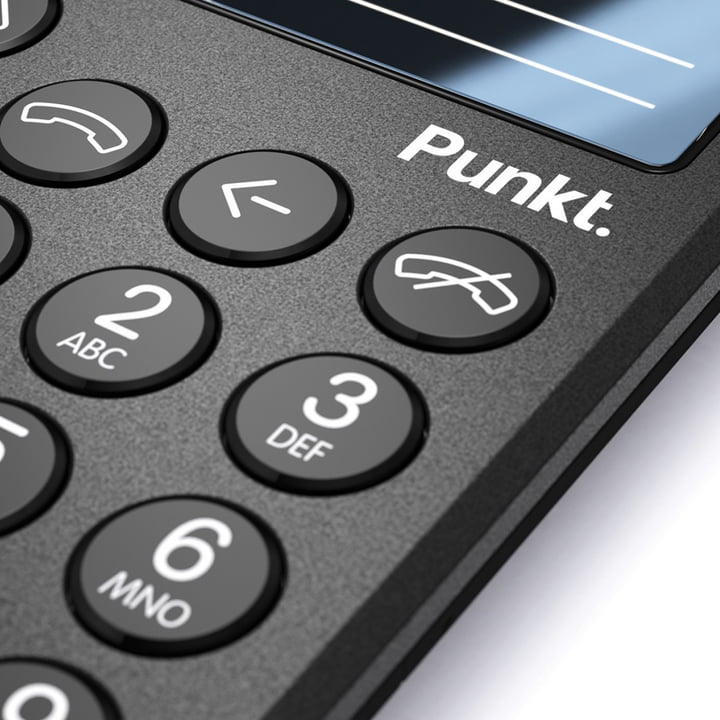 Punkt. - mobile phone MP01, black