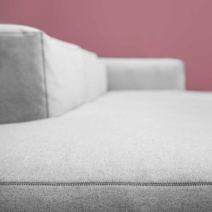 The Hay Mags Soft sofa in Divina melange 120