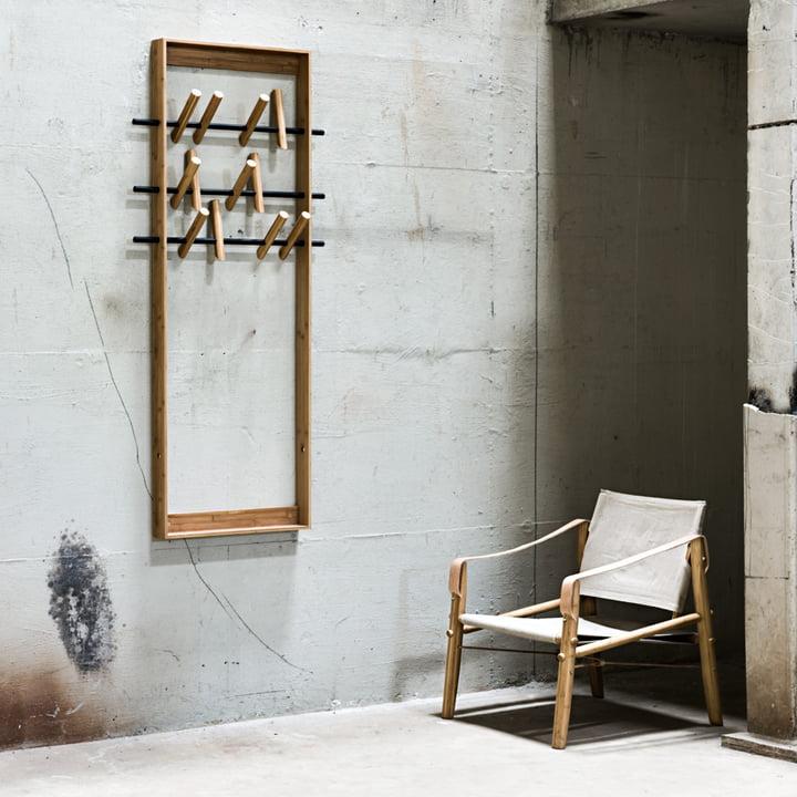 Wardrobe furniture made of bamboo wood