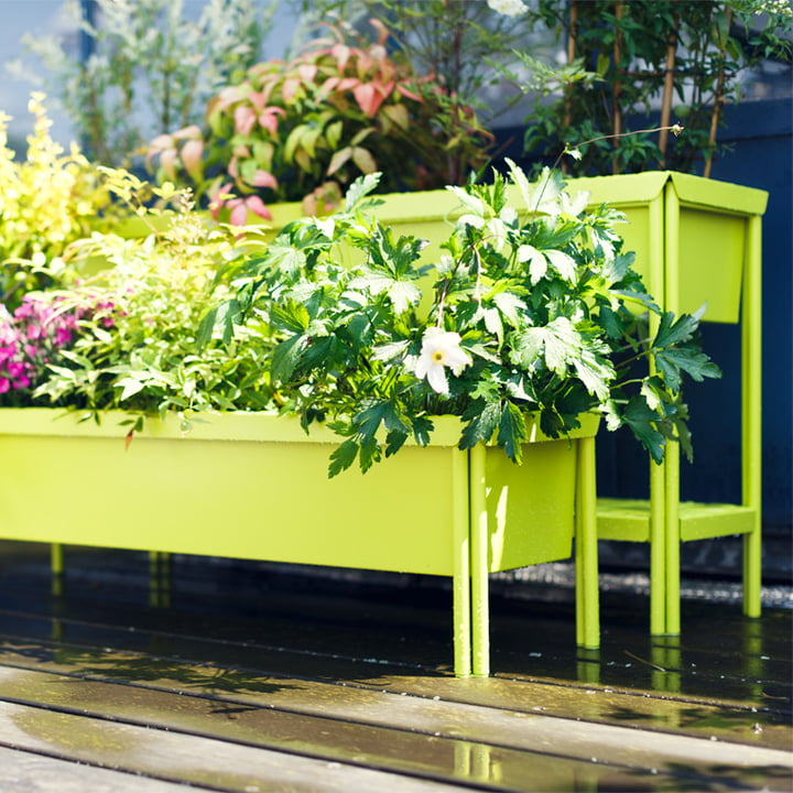 Fermob flower box for the outdoor plants