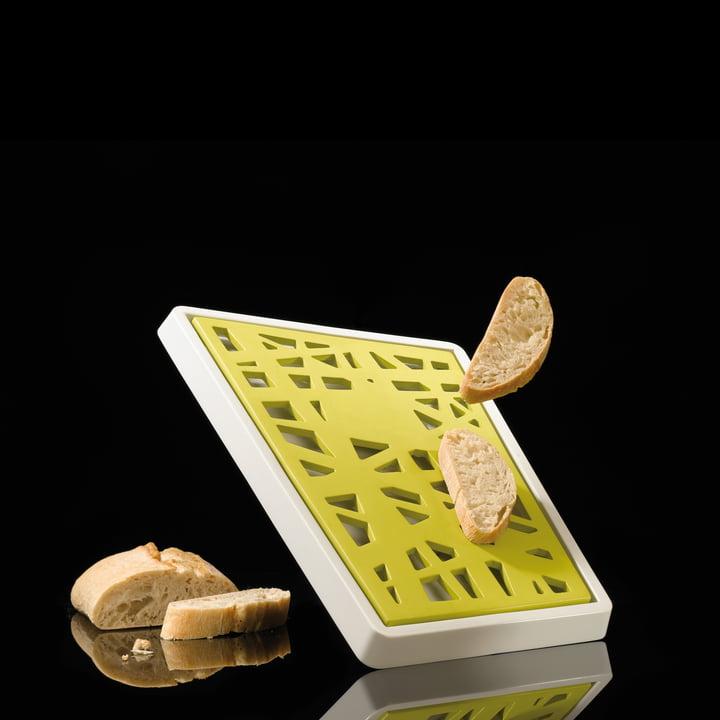 Koziol - Matrix Bread Board with Crumb Tray