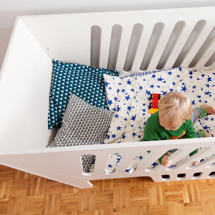 Elevated Rocky baby and children's bed